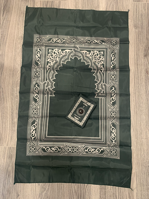 Pocket Prayer Mat-Dark Teal