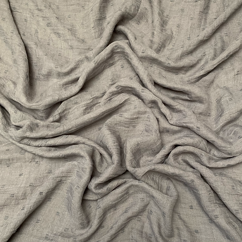 Dotted Viscose-Gray
