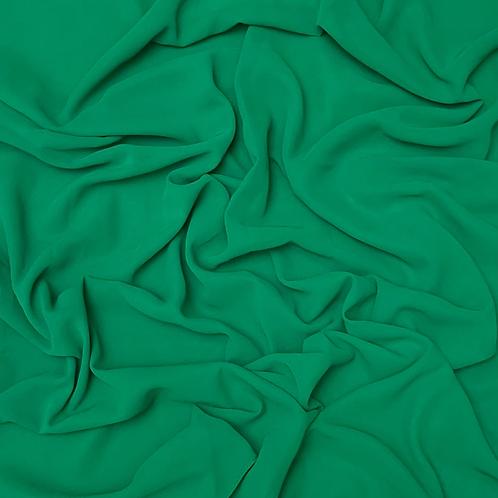 Premium Chiffon-Parrot Green