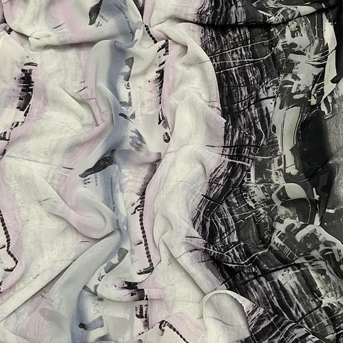 Printed Chiffon-Haze