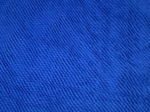 Crinkle-Royal Blue