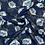 Thumbnail: Printed Chiffon-Navy3