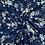 Thumbnail: Printed Viscose-Navy
