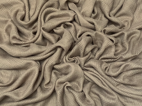 Hollow Cotton-Taupe