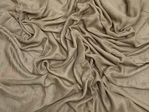 Cotton Viscose-Khaki
