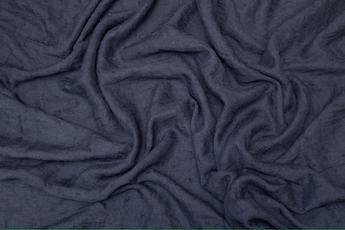 Dotted Viscose-Navy