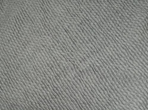 Crinkle-Charcoal Gray