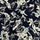 Thumbnail: Printed Chiffon-Navy1