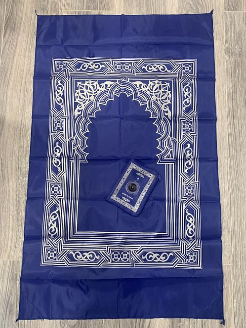 Pocket Prayer Mat-Royal Blue