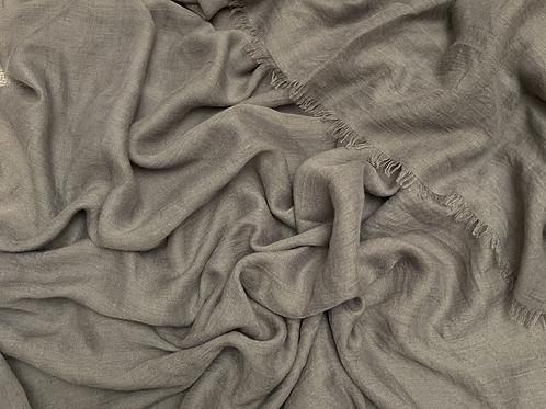 Cotton Viscose-Gray