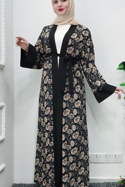 Floral Kimono Abaya