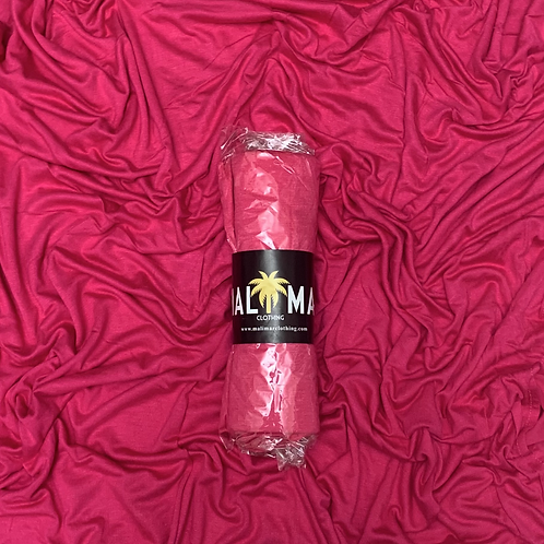 Small Premium Jersey-Hot Pink