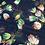 Thumbnail: Printed Chiffon-Navy2