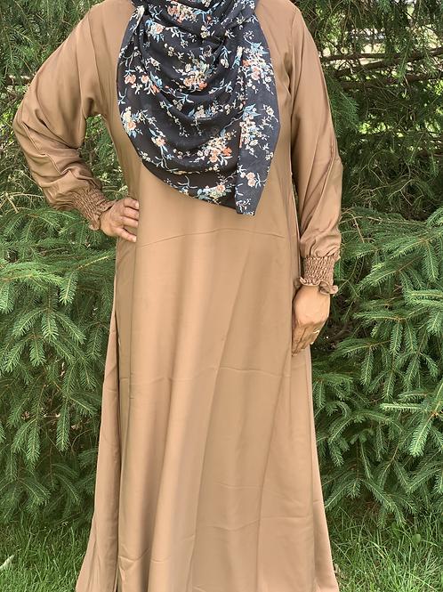 Nida Everyday Abaya-Camel