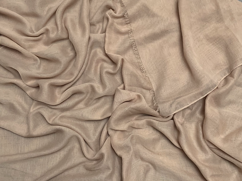 Cotton Viscose-Beige