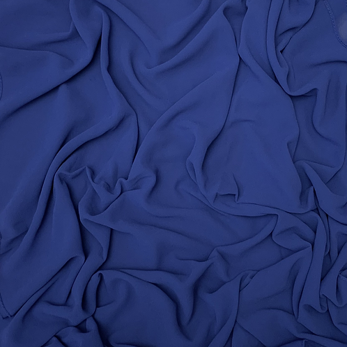 Premium Chiffon-Royal Blue