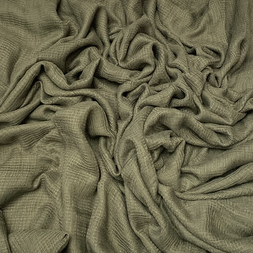 Hollow Cotton-Olive Green