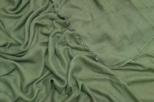 Cotton Viscose-Mahendi Green