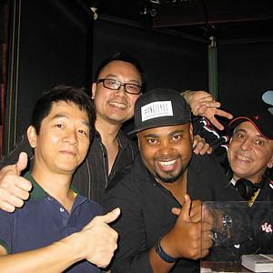 Salsaman, Angel, Simon, Salsagodfather at Club Xperience 2006~2016