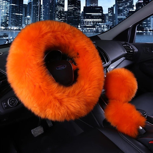 Orange Fur Set