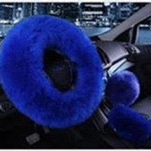 Royal Blue Fur Set