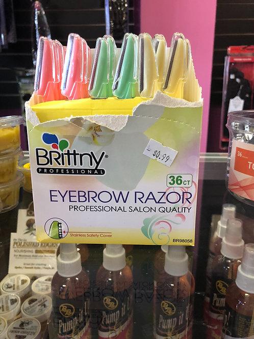 Eyebrow razor