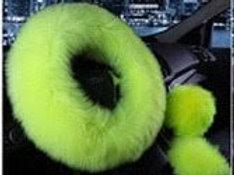 Electric Lime Fur Set