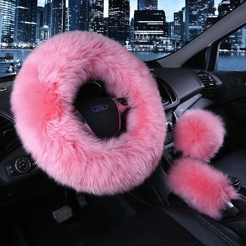 Light Pink Fur Set