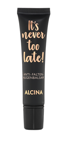 It's never too late Anti-Falten-Augenbalsam