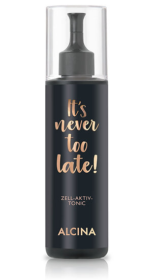 It's never too late Zell-Aktiv-Tonic