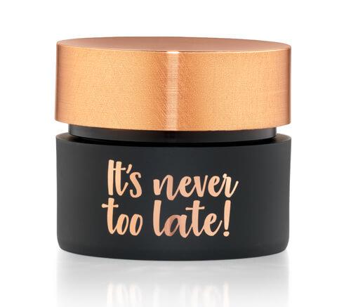 It's never too late Anti-Falten-Gesichtscreme