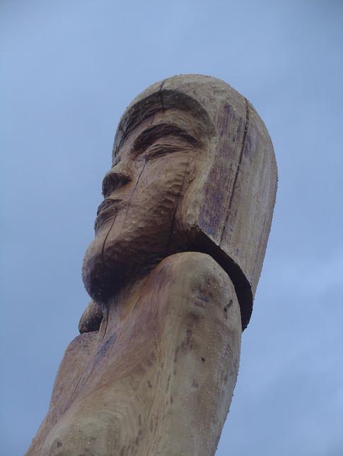 Die Lange, Höhe ca. 350 cm, verkauft