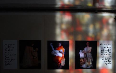 Installation und Jusstellung Jubiläum zum  Nürtinger Altar
