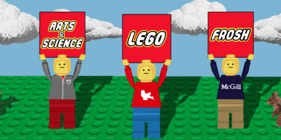 McGill Arts and Science LEGO Frosh!