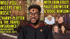 """""""HARRY PLOTTER AND THE TRAVEL INSURANCE- DRAFT PICKS!"""" w/ Paget Brewster, Doug Benson and Erin Foley"""