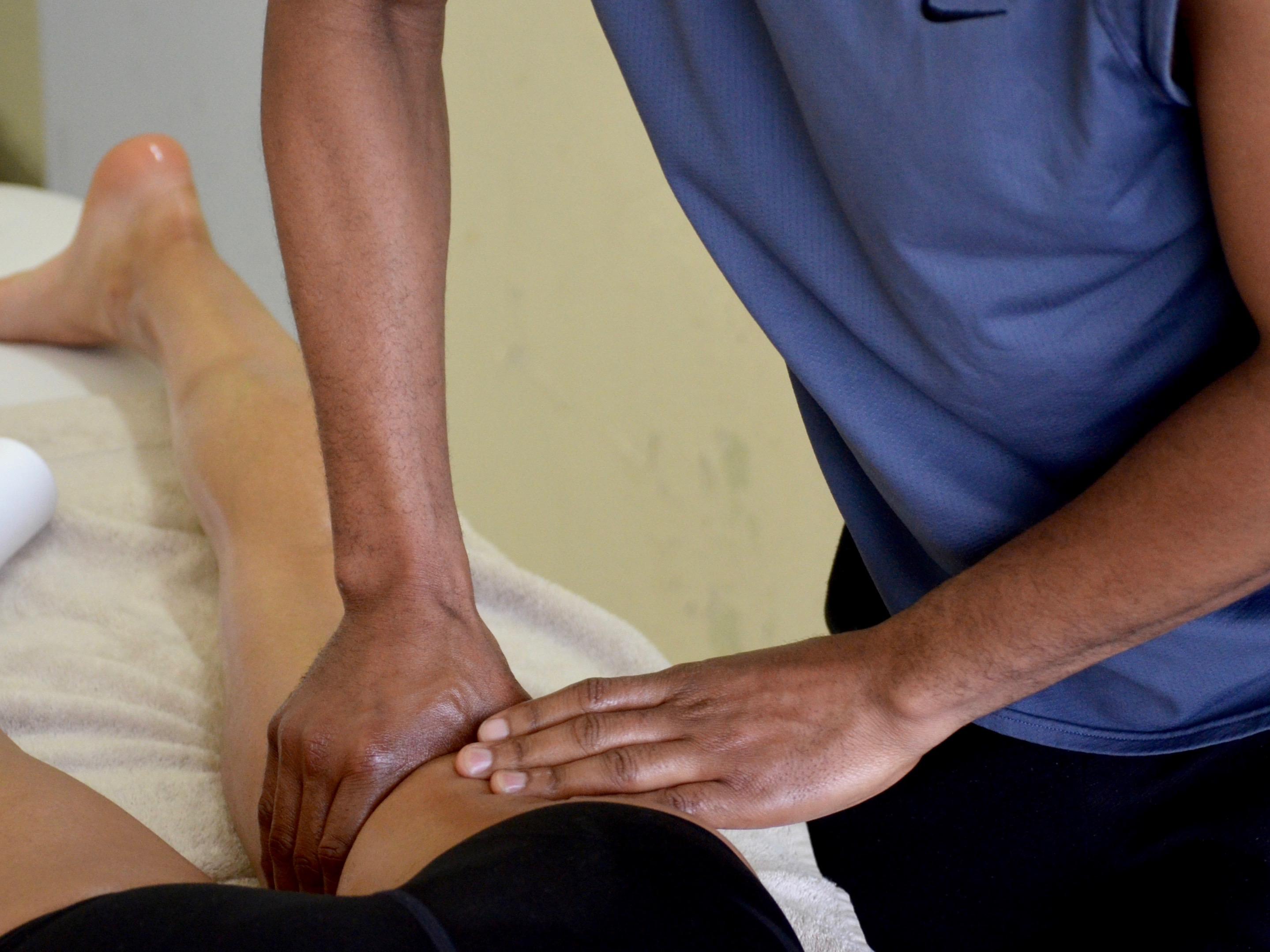 Massage des ischios