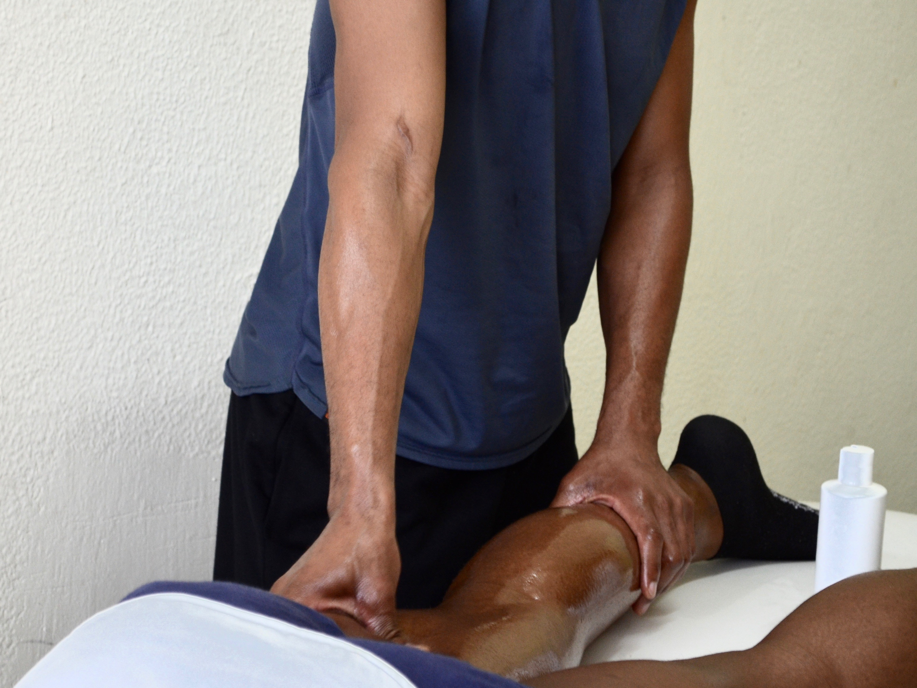 Massage des mollets