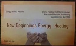 New Beginings Energy Healing