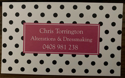 Alterations and Dressmaking