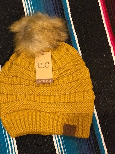 CC Beanie Soft Cable Knit