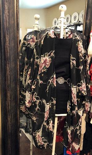 Cow Skull Kimono