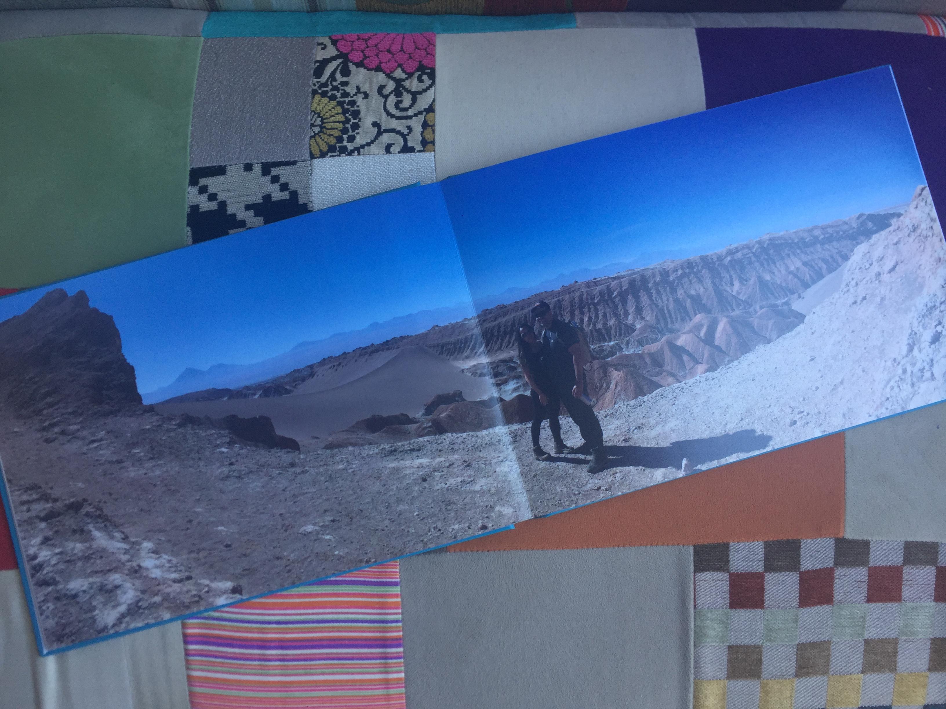 Álbum fotográfico de Viagem