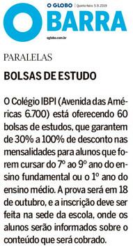 Jornal O Globo Barra