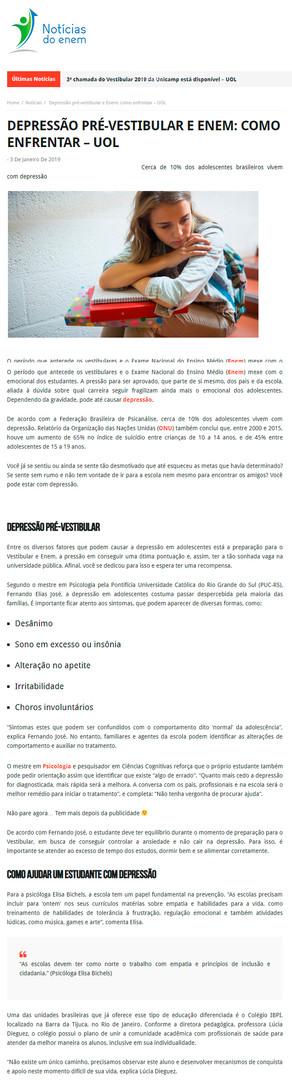 Portal Notícias do Enem