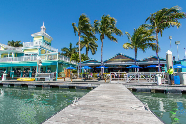 Parrot Key Caribbean Grill at Salty Sam's Marina