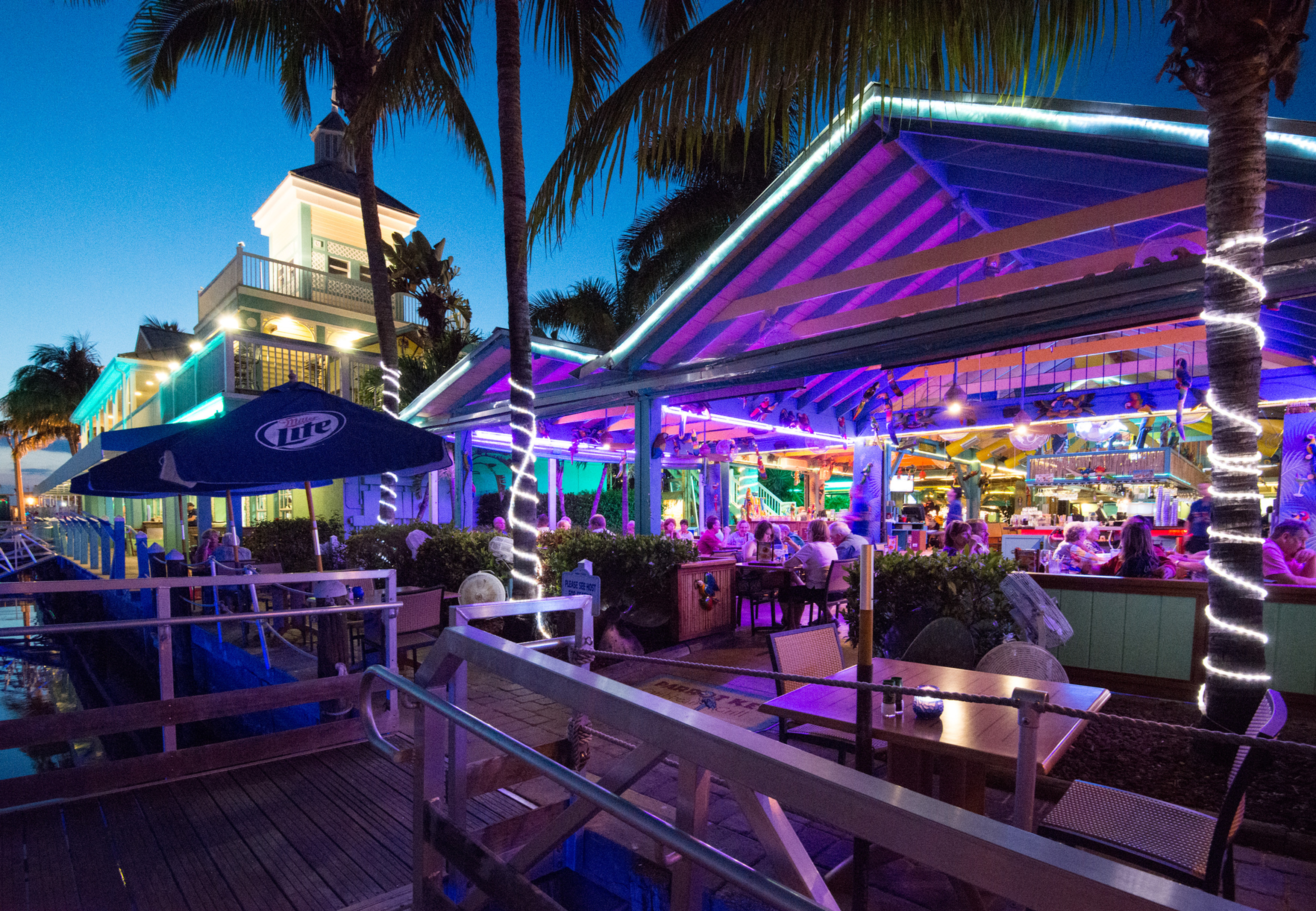 Waterfront Dining Parrot Key Caribbean Grill