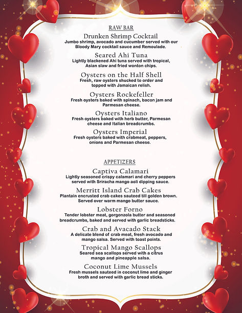 Parrot Key Valentine's Day menu-2021-fro