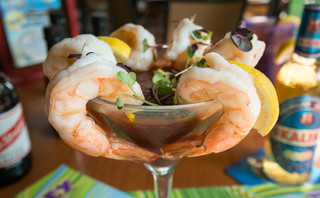 Drunken Shrimp Cocktail