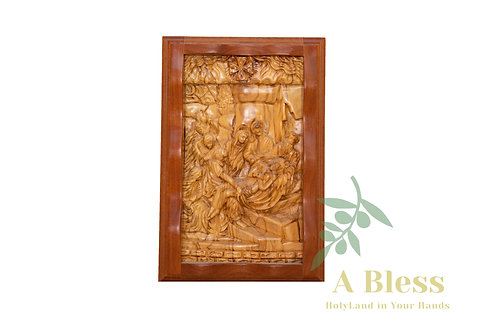 Olive Wood Carved Stations of the Cross