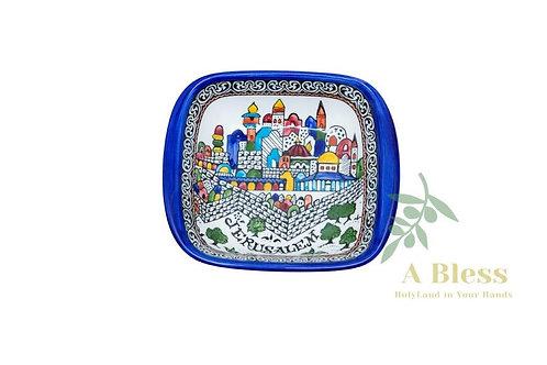 Ceramic Jerusalem Dish